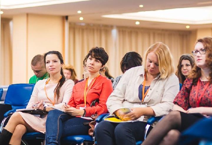 На конференции по контент-маркетингу